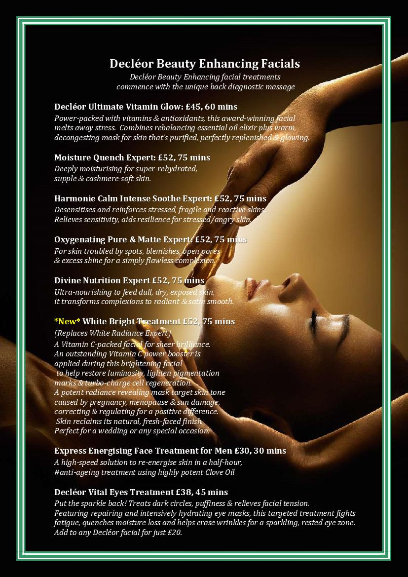 Decleor-Beauty-Enhancing-Facials